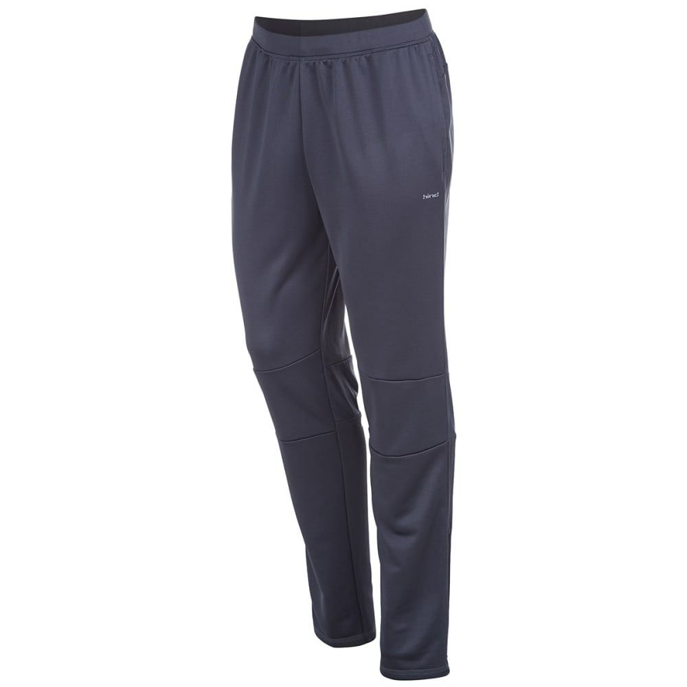 HIND Men's Slim Fit Running Pants - ANTRACITE/BLUE-AHC
