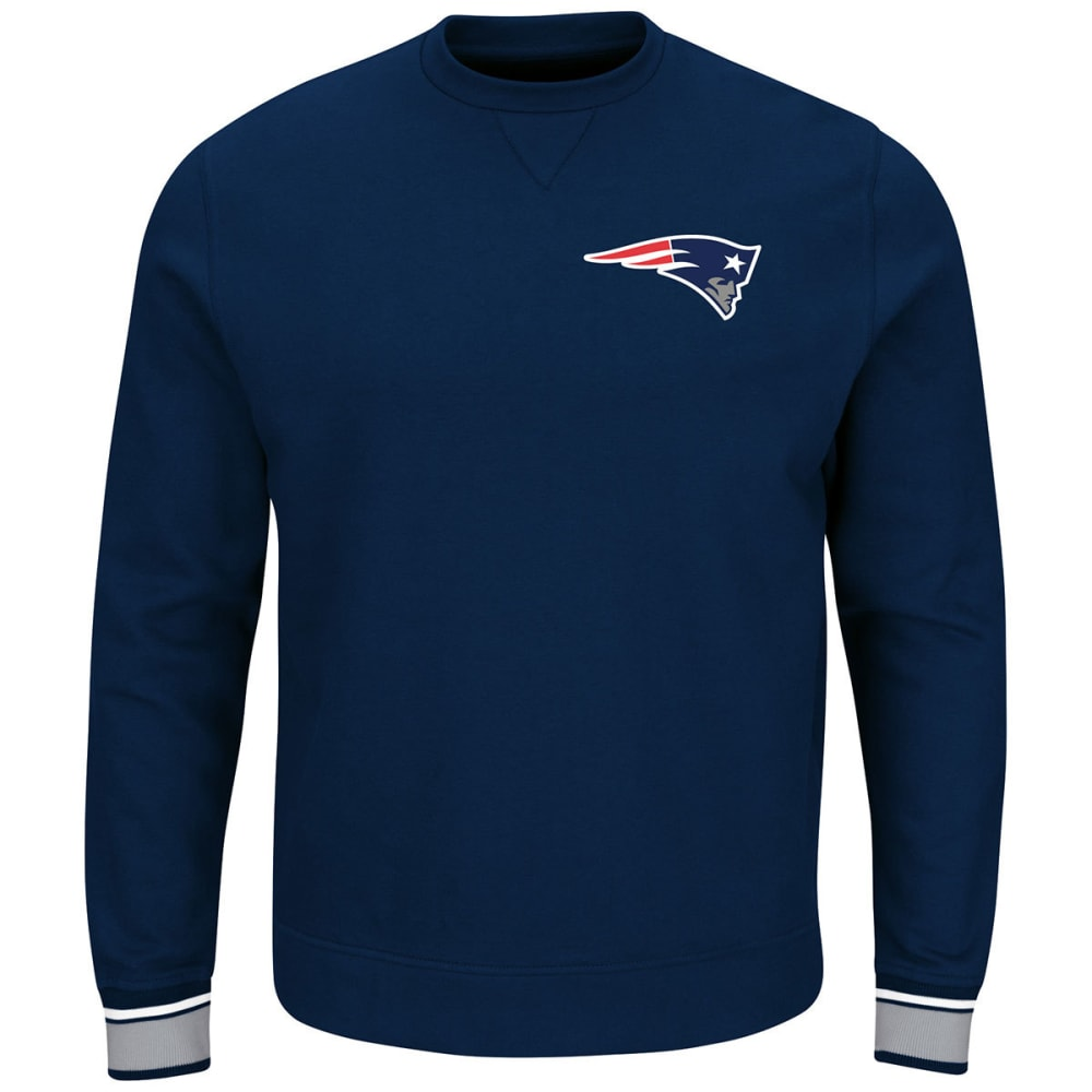 NEW ENGLAND PATRIOTS Men's Classic Crew Sweatshirt - NAVY