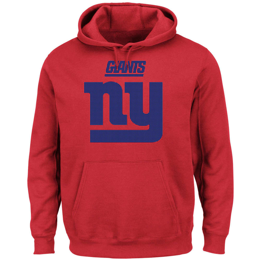 NEW YORK GIANTS Men's Critical Victory II Pullover Hoodie - RED