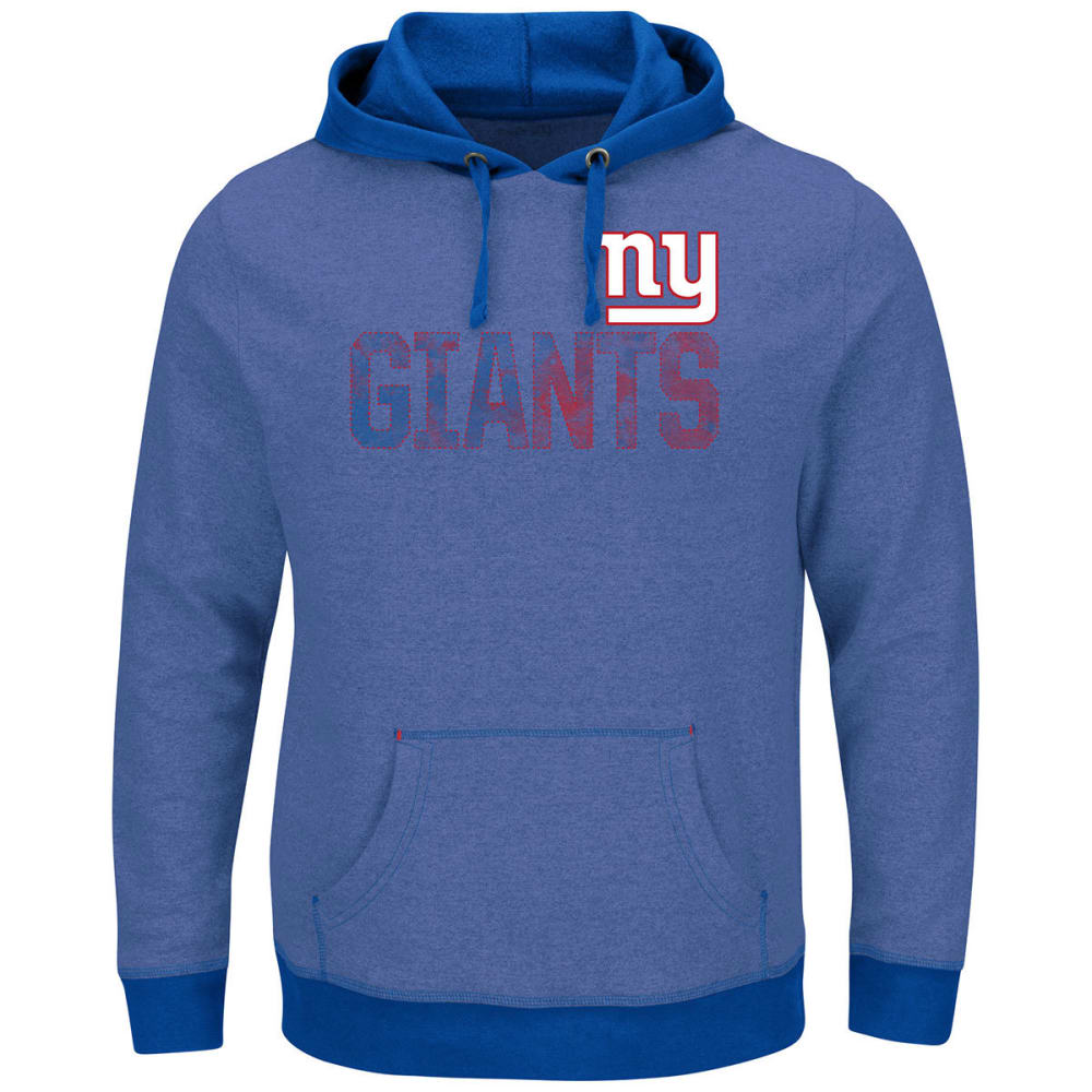 NEW YORK GIANTS Men's Gameday Classic Pullover Hoodie - HEATHER ROYAL