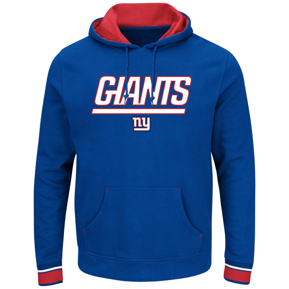NEW YORK GIANTS Men's Championship Pullover Hoodie - ROYAL BLUE