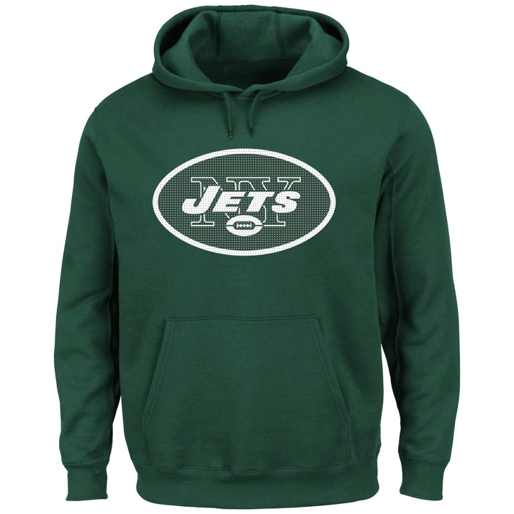 NEW YORK JETS Men's Critical Victory II Pullover Hoodie - GREEN