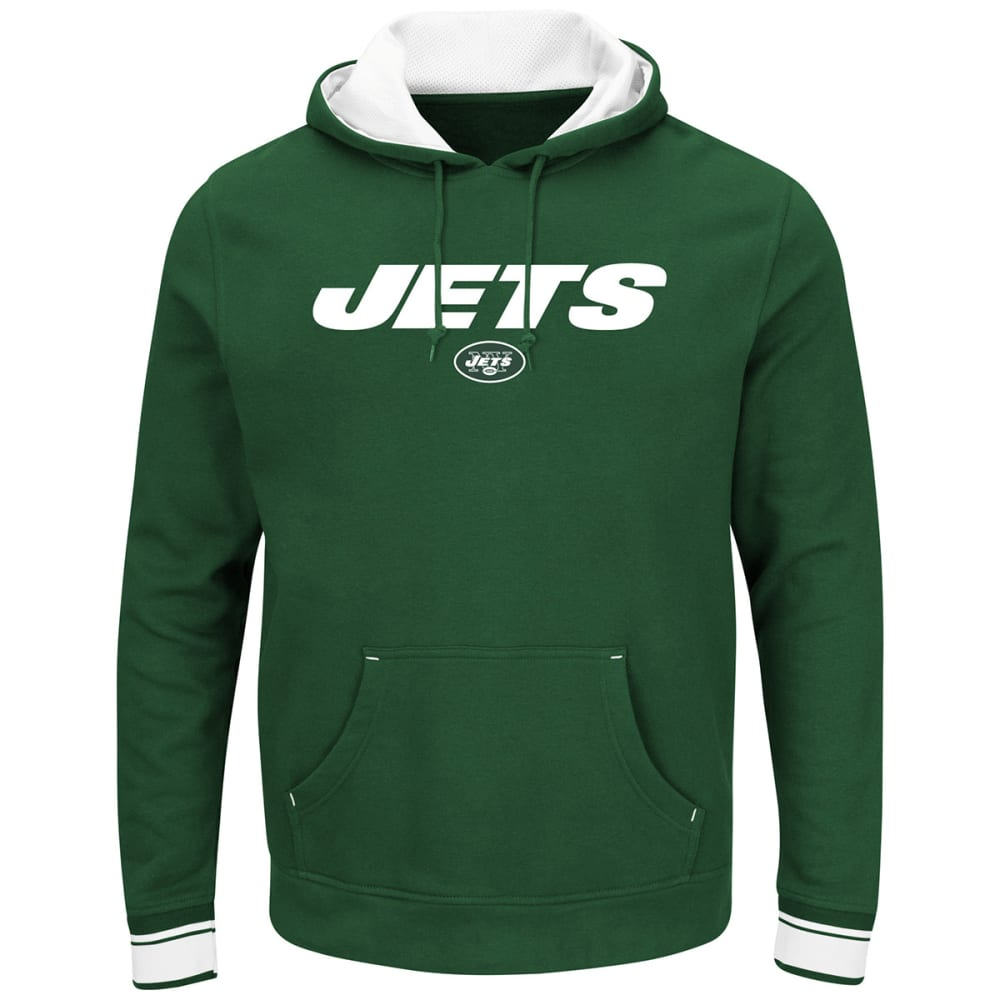 NEW YORK JETS Men's Championship Pullover Hoodie - GREEN