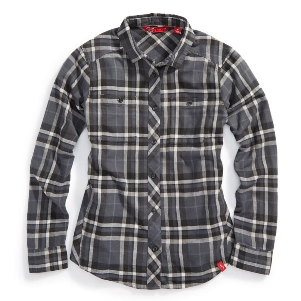 EMS® Women's Cabin Flannel Shirt - CAVIAR