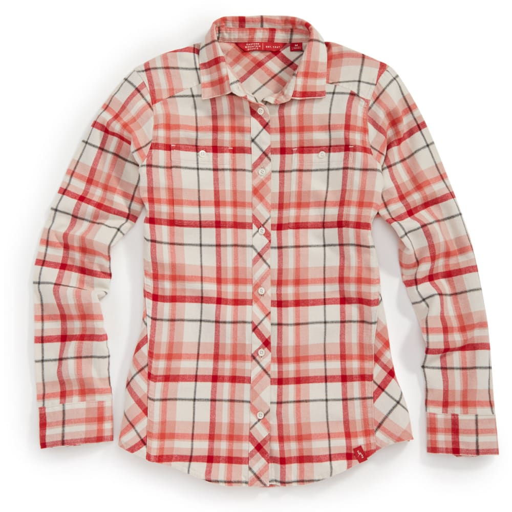 Ems(R) Women's Cabin Flannel Shirt - White, M