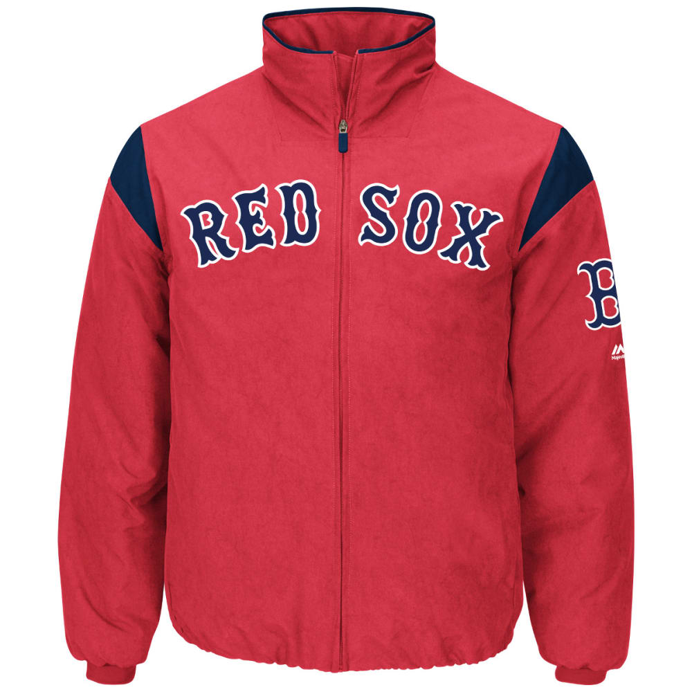 BOSTON RED SOX Men's On Field Thermal Jacket - RED