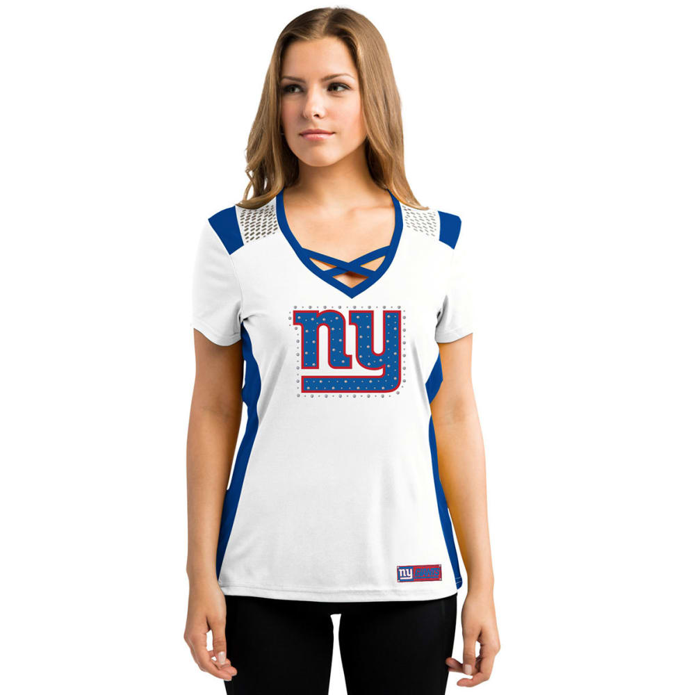 NEW YORK GIANTS Women's Draft Me Jersey - ROYAL BLUE
