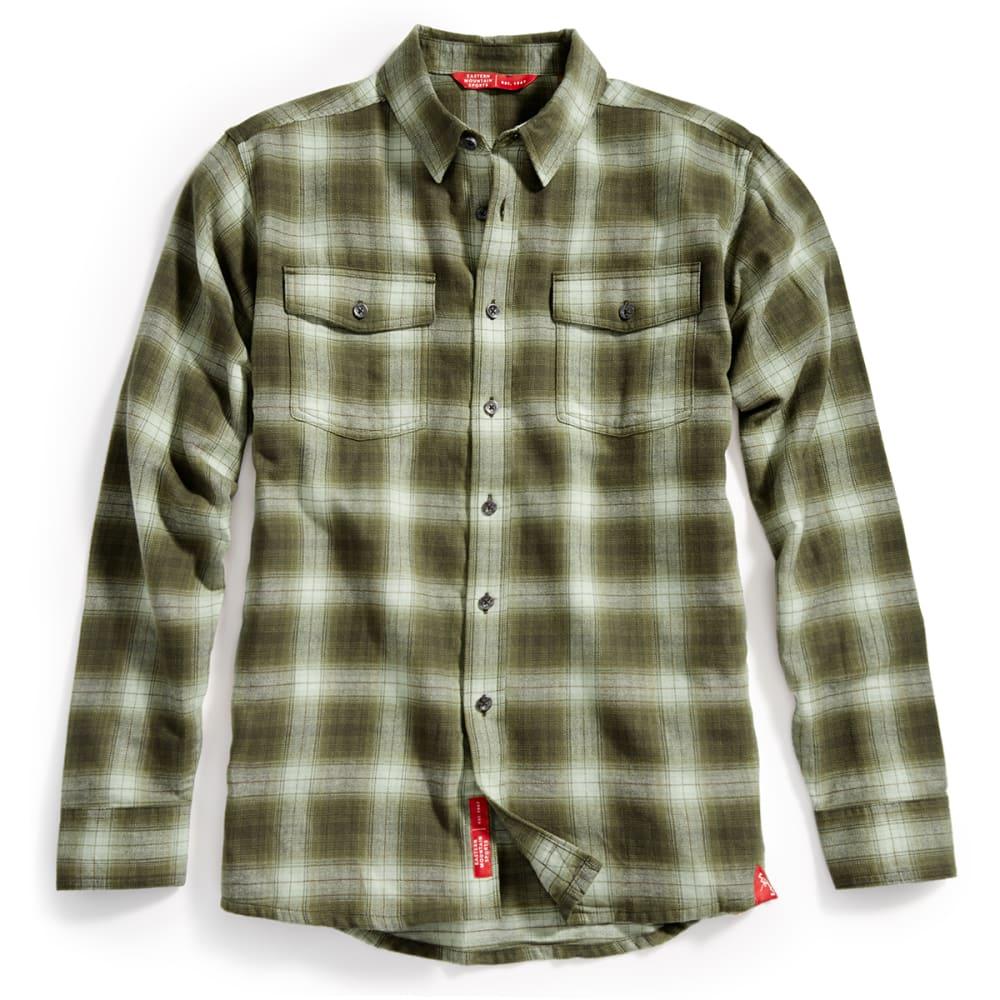 EMS® Men's Cabin Flannel Shirt - FOUR LEAF CLOVER