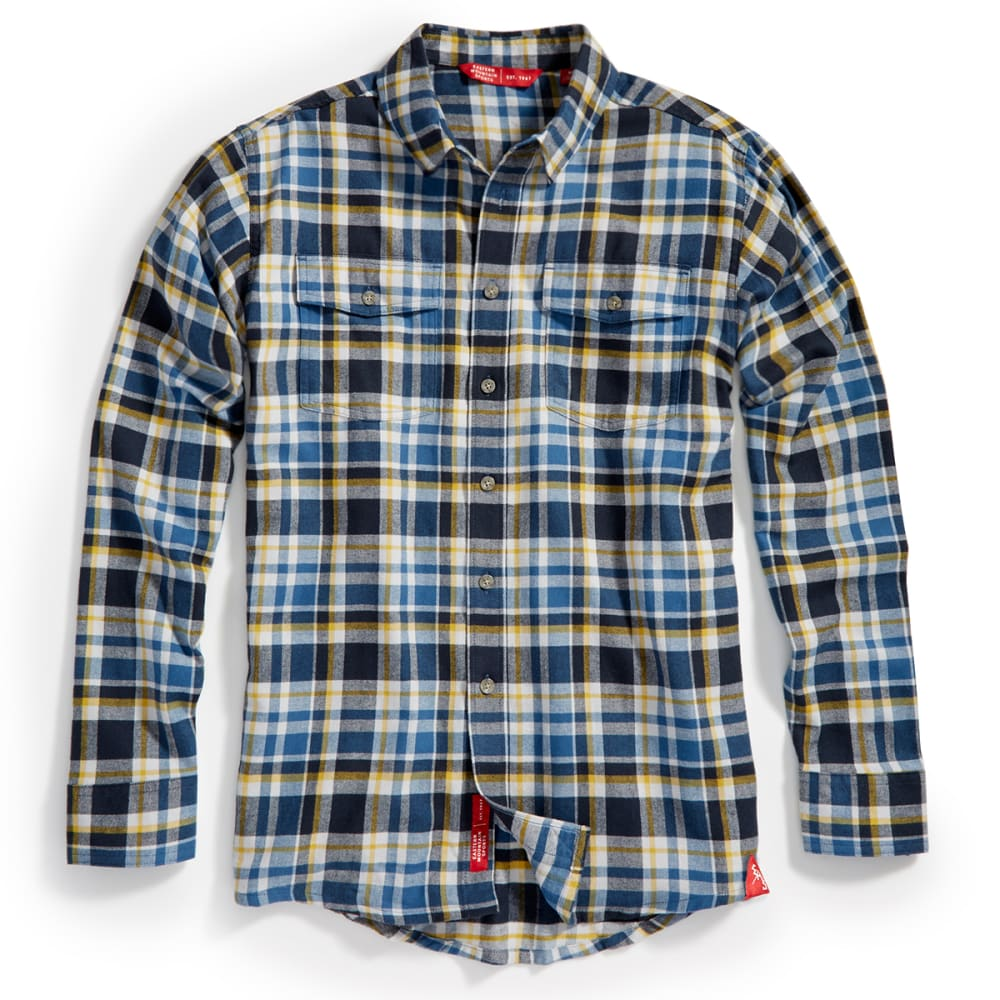 EMS® Men's Cabin Flannel Shirt - NAVY BLAZER