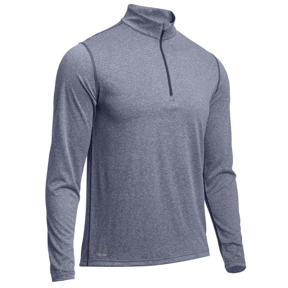 Ems(R) Men's Techwick(R) Essentials   1/4 Zip - Blue, XL
