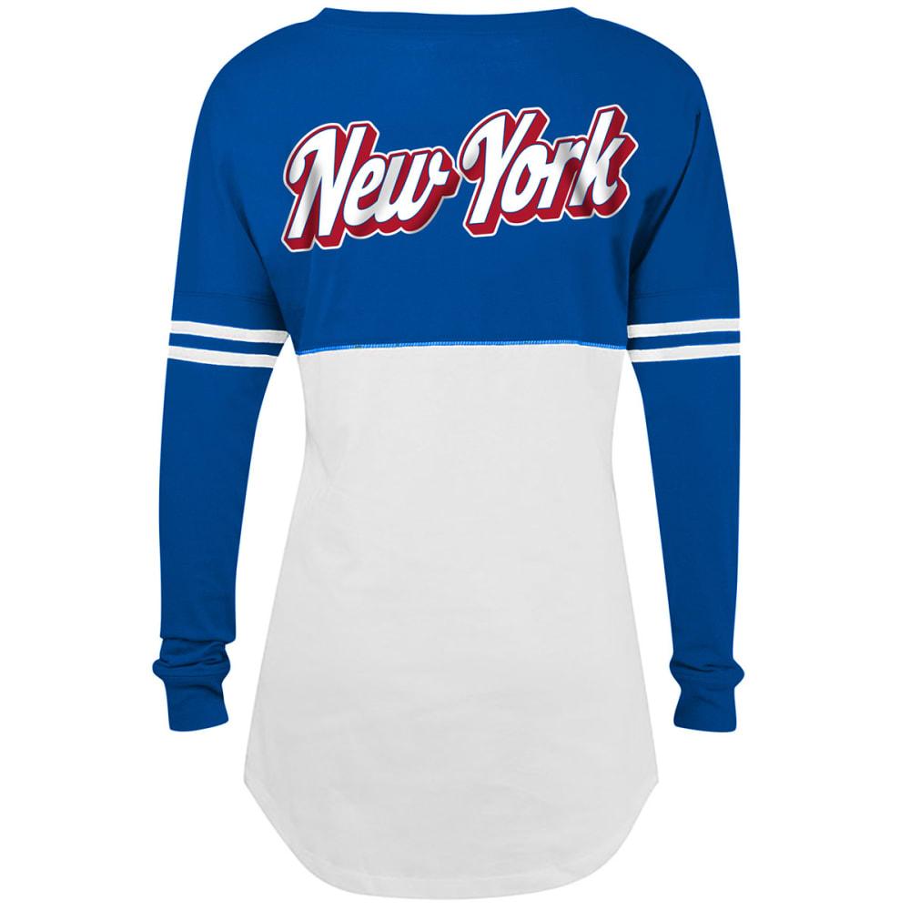 NEW YORK GIANTS Women's Long-Sleeve Spirit Top - ROYAL BLUE