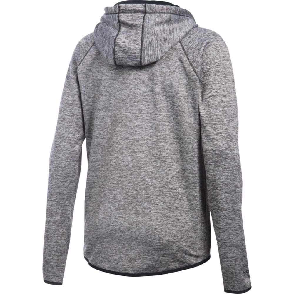 UNDER ARMOUR Women's Storm Armour Fleece Twist Lightweight Hoodie - BLACK 001