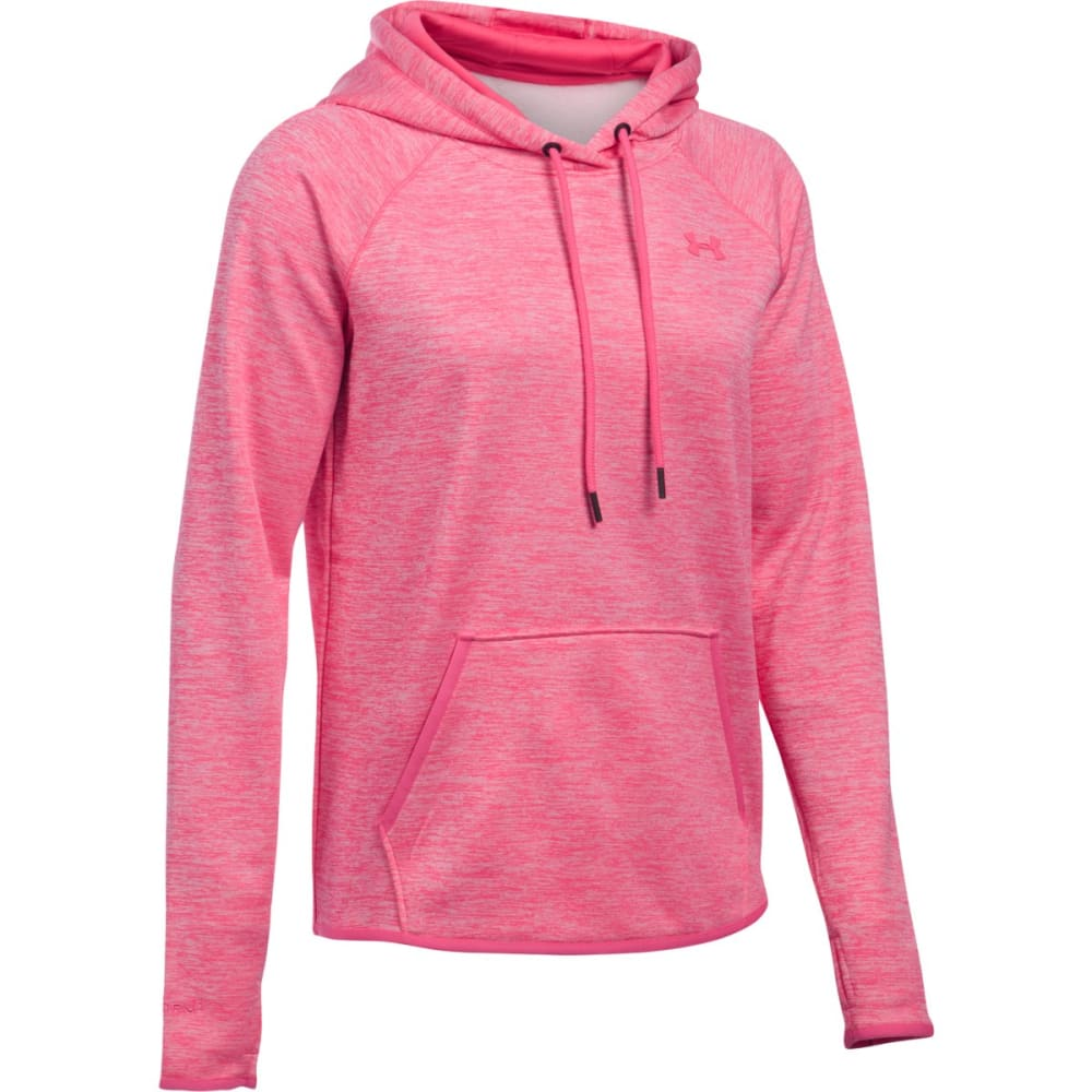 UNDER ARMOUR Women's Storm Armour Fleece Twist Lightweight Hoodie - PINK SKY 601