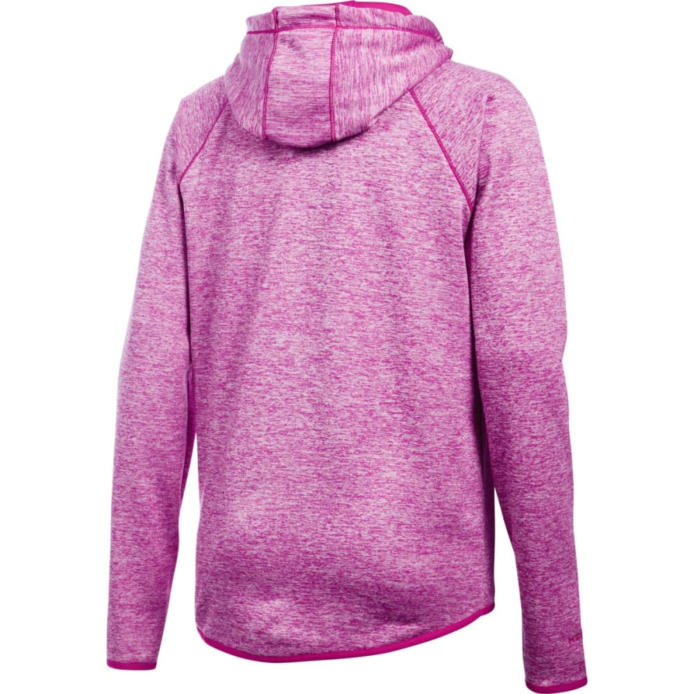 UNDER ARMOUR Women's Storm Armour Fleece Twist Lightweight Hoodie - MAGENTA 600