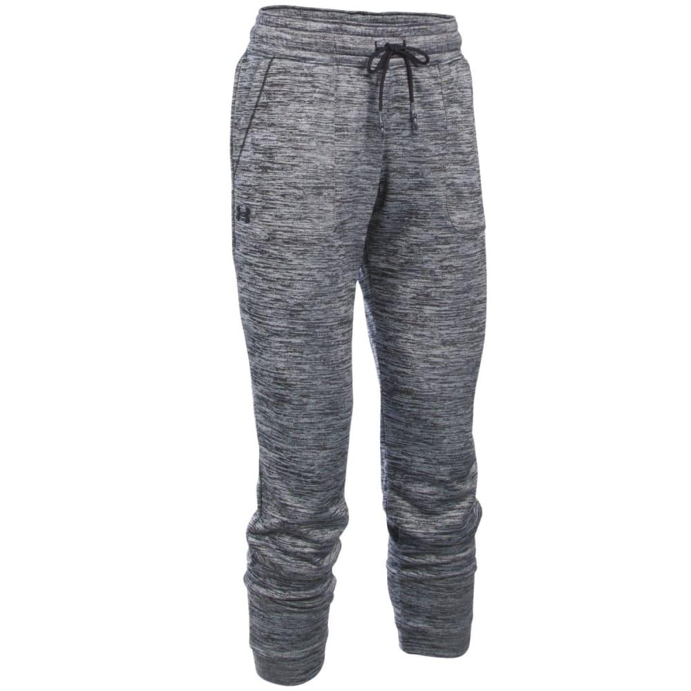 UNDER ARMOUR Women's Twist Fleece Jogger Pants - BLACK 001