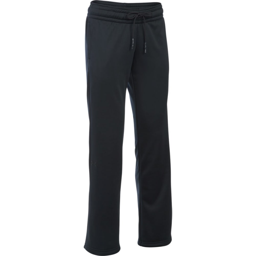 UNDER ARMOUR Women's Storm Fleece Lightweight Pants - BLACK 001