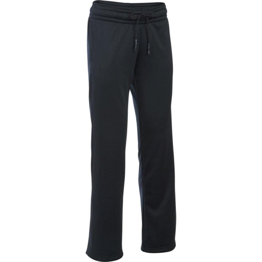 UNDER ARMOUR Women's Storm Fleece Lightweight Pants - BLACK 001