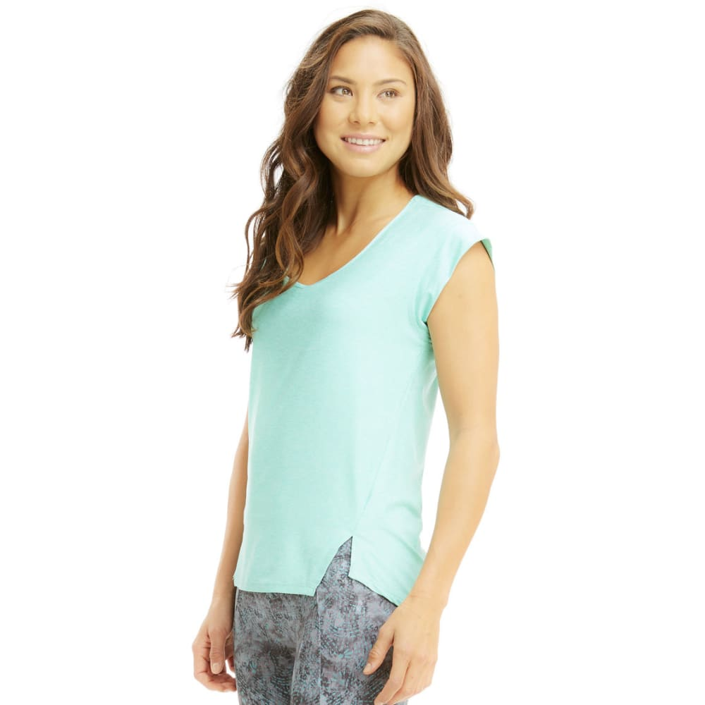 MARIKA Women's Cross-Train Tee - HTHR COCKATOO-39L