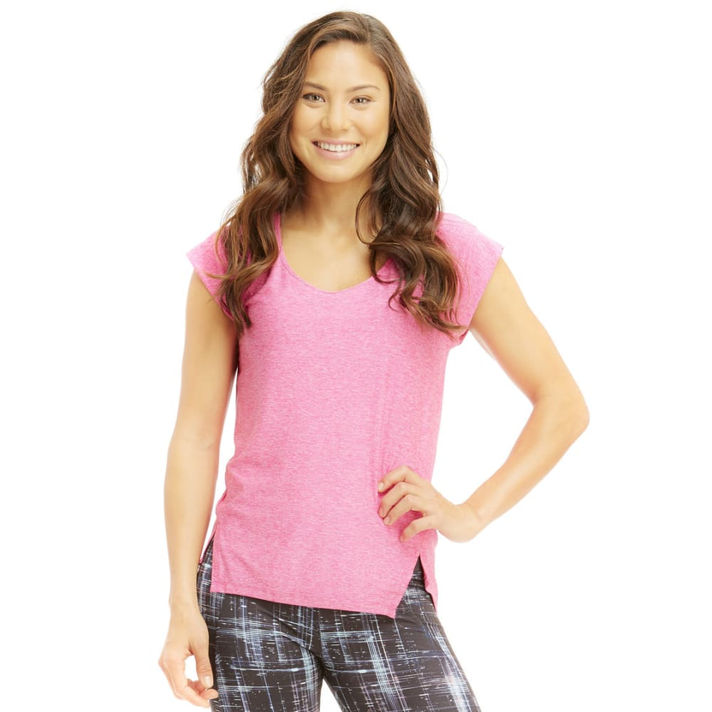 MARIKA Women's Cross-Train Tee - HTHR PINK GLO-26C