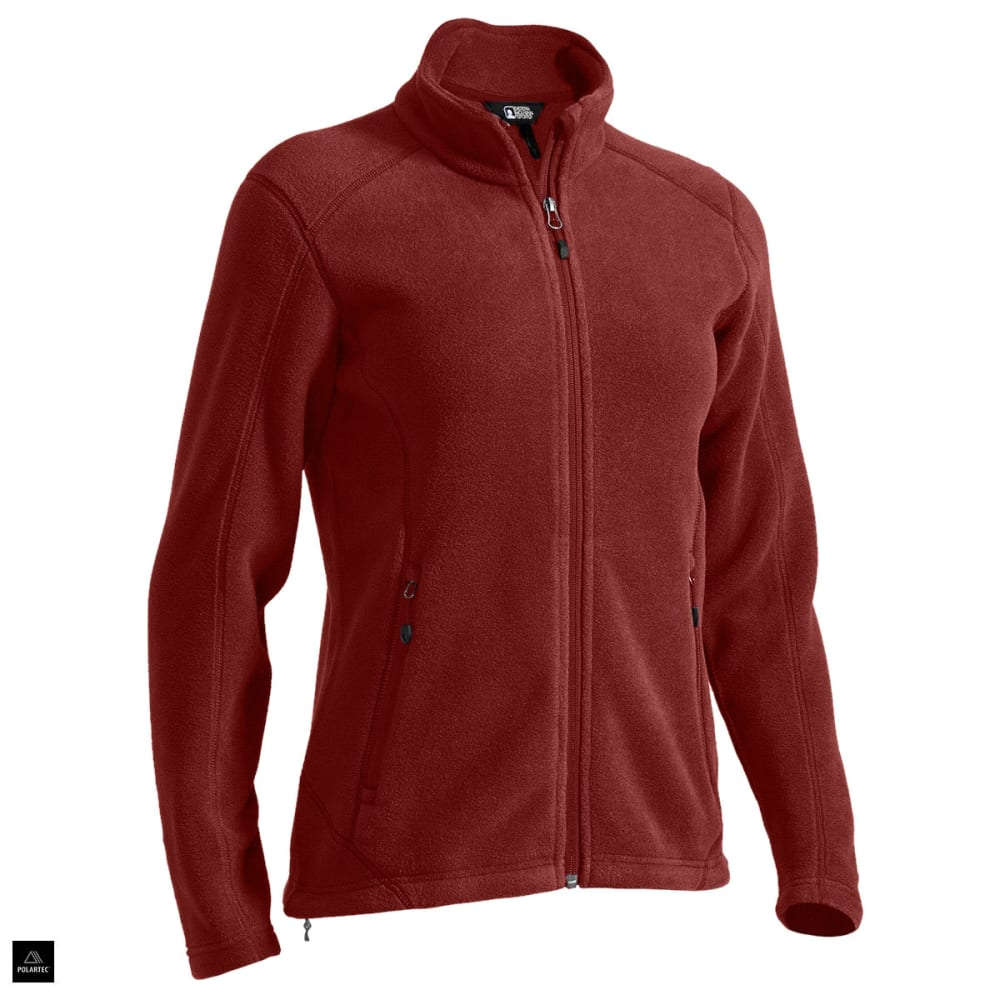 EMS® Women's Classic 200 Fleece Jacket - BRICK RED