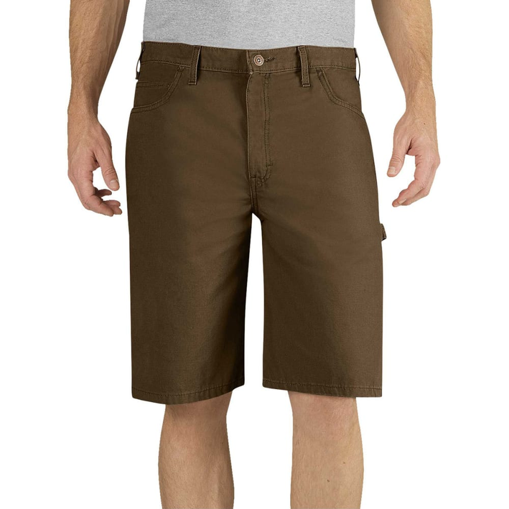 DICKIES Men's 11 in. Relaxed Fit Lightweight Duck Carpenter Shorts 38