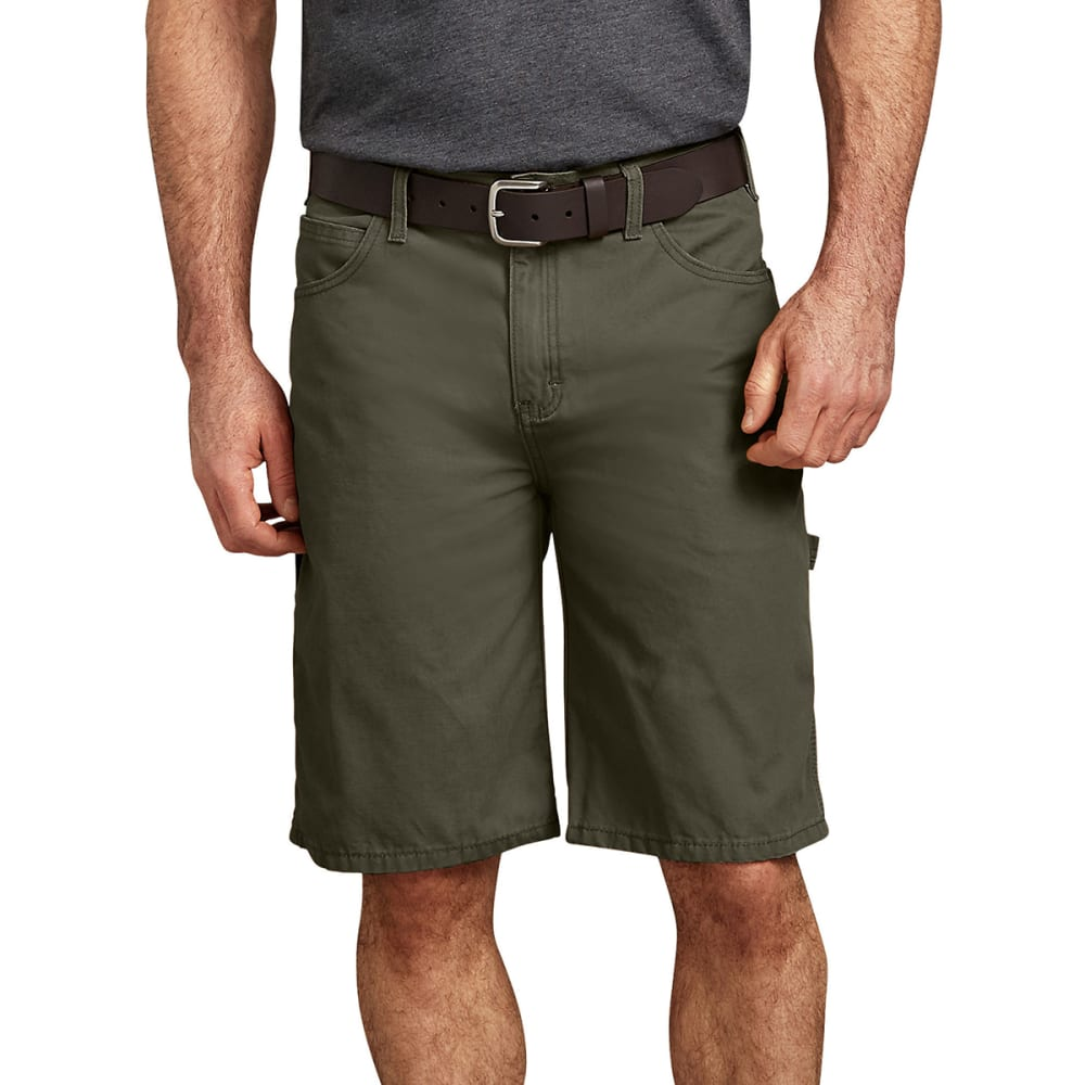 DICKIES Men's 11 in. Relaxed Fit Lightweight Duck Carpenter Shorts 34