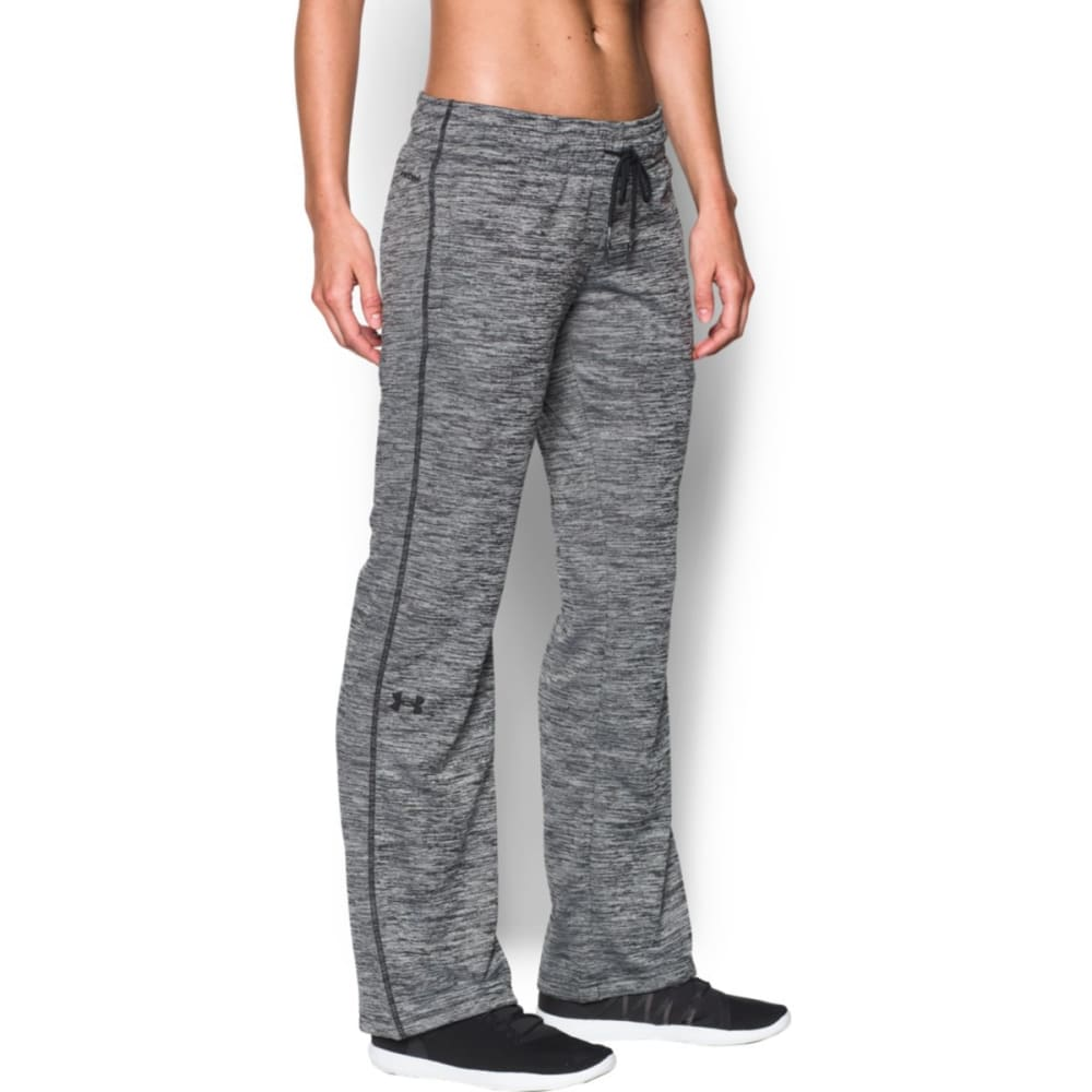 UNDER ARMOUR Women's Twist Storm Fleece Lightweight Pants - BLACK 001