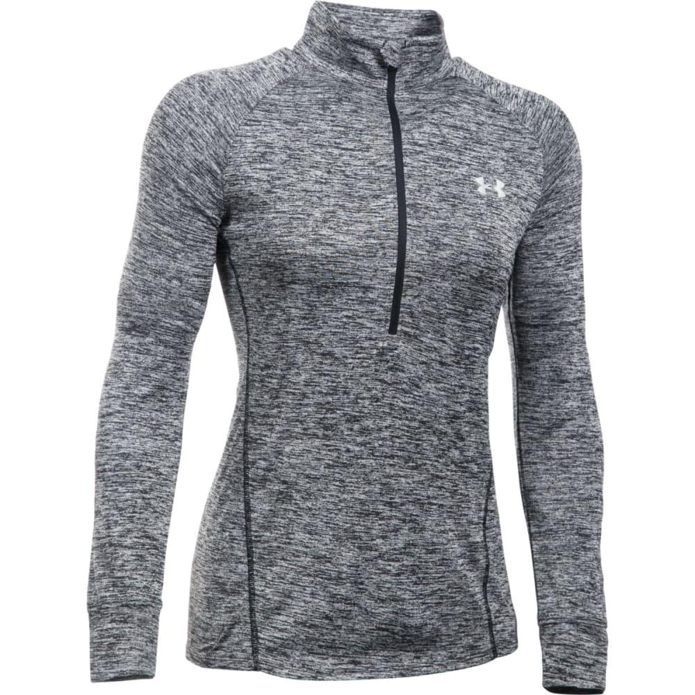 UNDER ARMOUR Women's Tech™ ½ Zip – Twist Pullover - BLACK 001