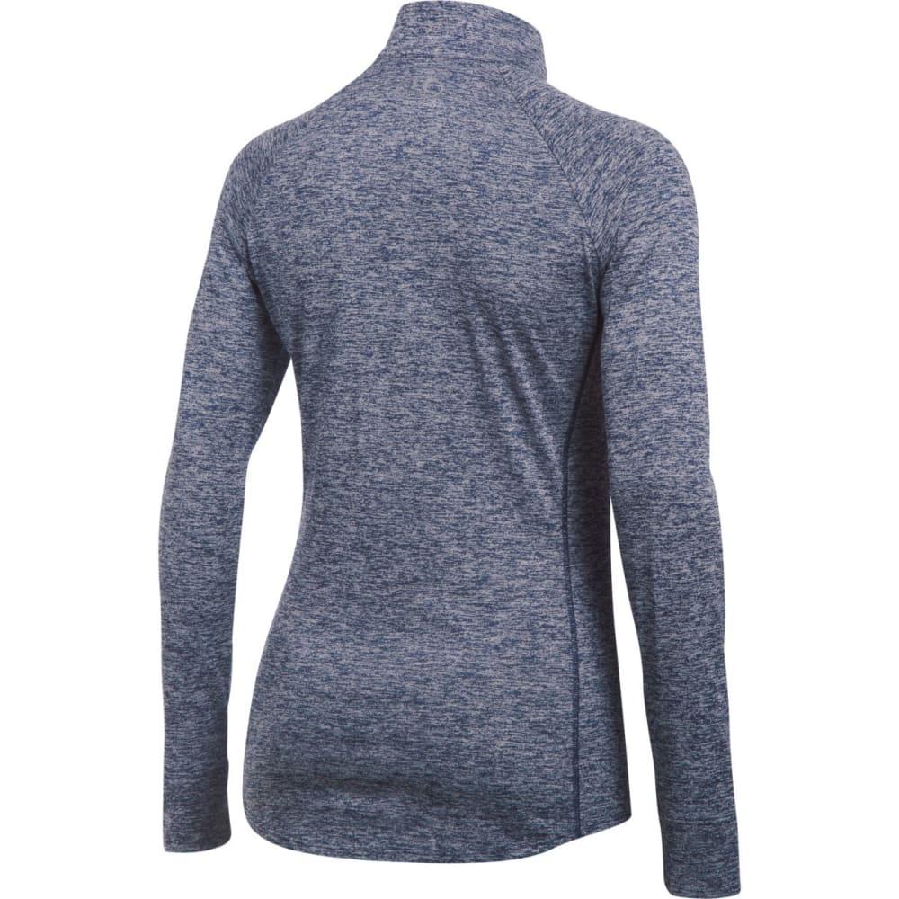 UNDER ARMOUR Women's Tech™ ½ Zip – Twist Pullover - MIDNIGHT NAVY-410