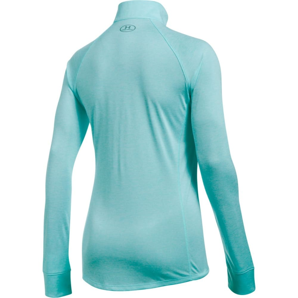 UNDER ARMOUR Women's Tech™ ½ Zip – Twist Pullover - BLUE INFINITY-942