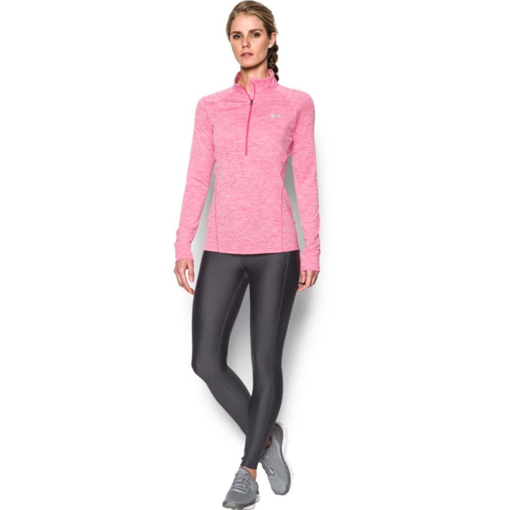 UNDER ARMOUR Women's Tech™ ½ Zip – Twist Pullover - PINK SKY-600