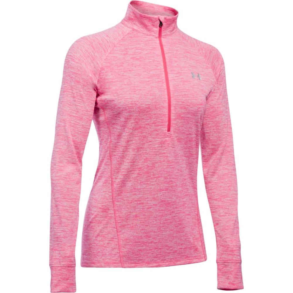 UNDER ARMOUR Women's Tech™ ½ Zip – Twist Pullover - PINK SKY-600