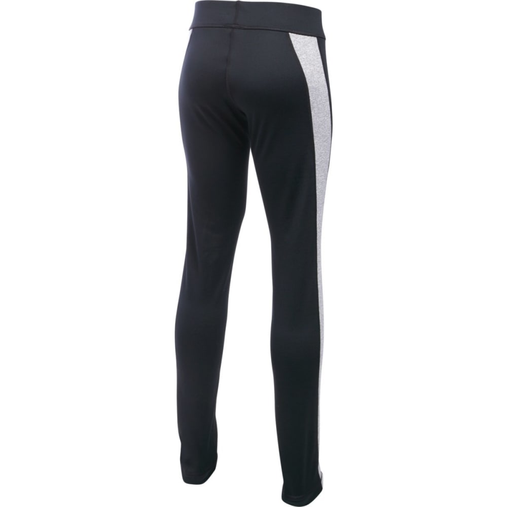 UNDER ARMOUR Girls' ColdGear Armour Leggings - BLACK-001