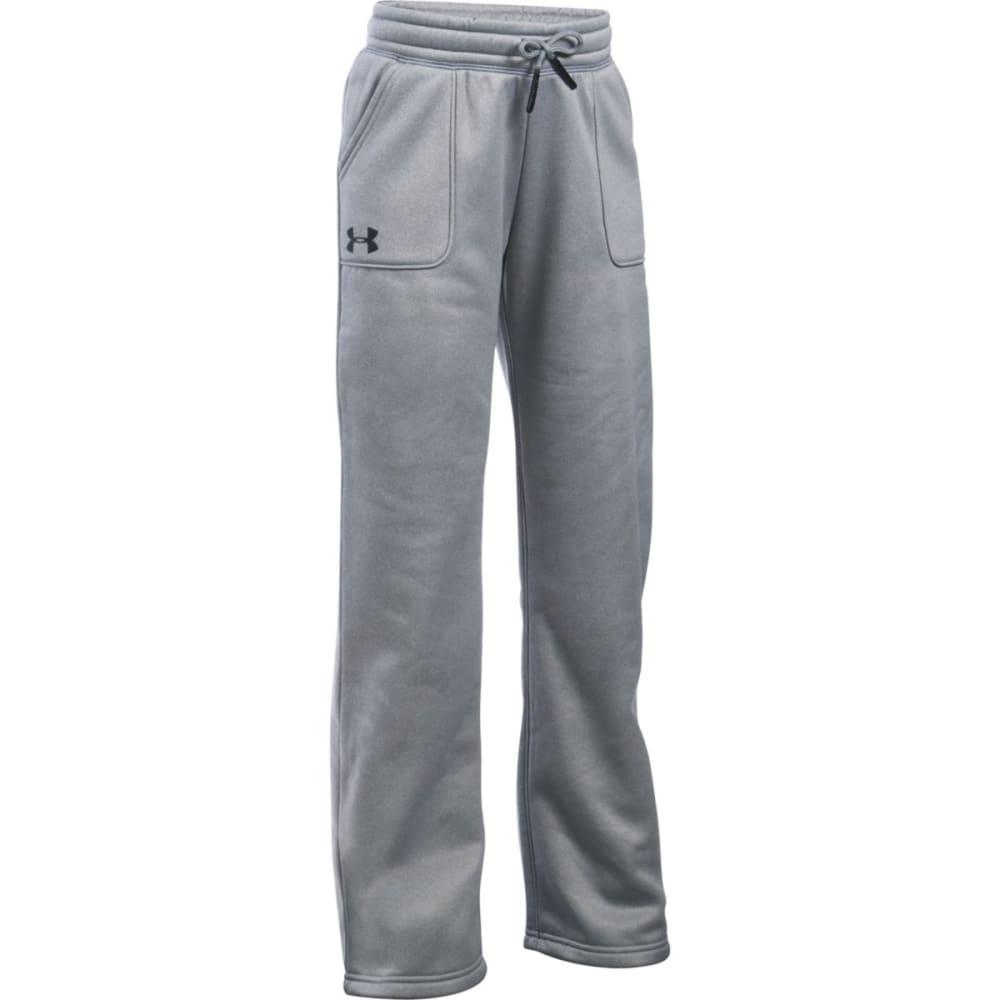 UNDER ARMOUR Girls' Fleece Boyfriend Pants XL
