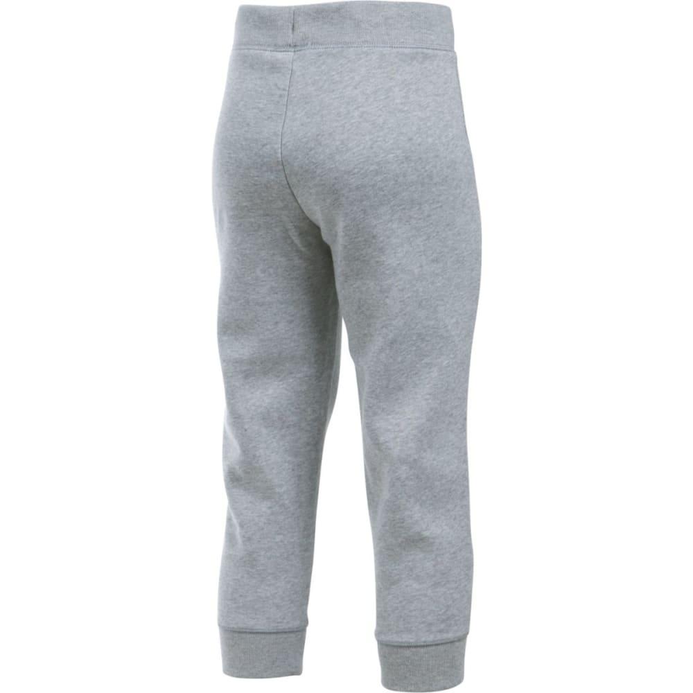 UNDER ARMOUR Girls' Favorite Fleece Capri Pants - TGH/BLK-025