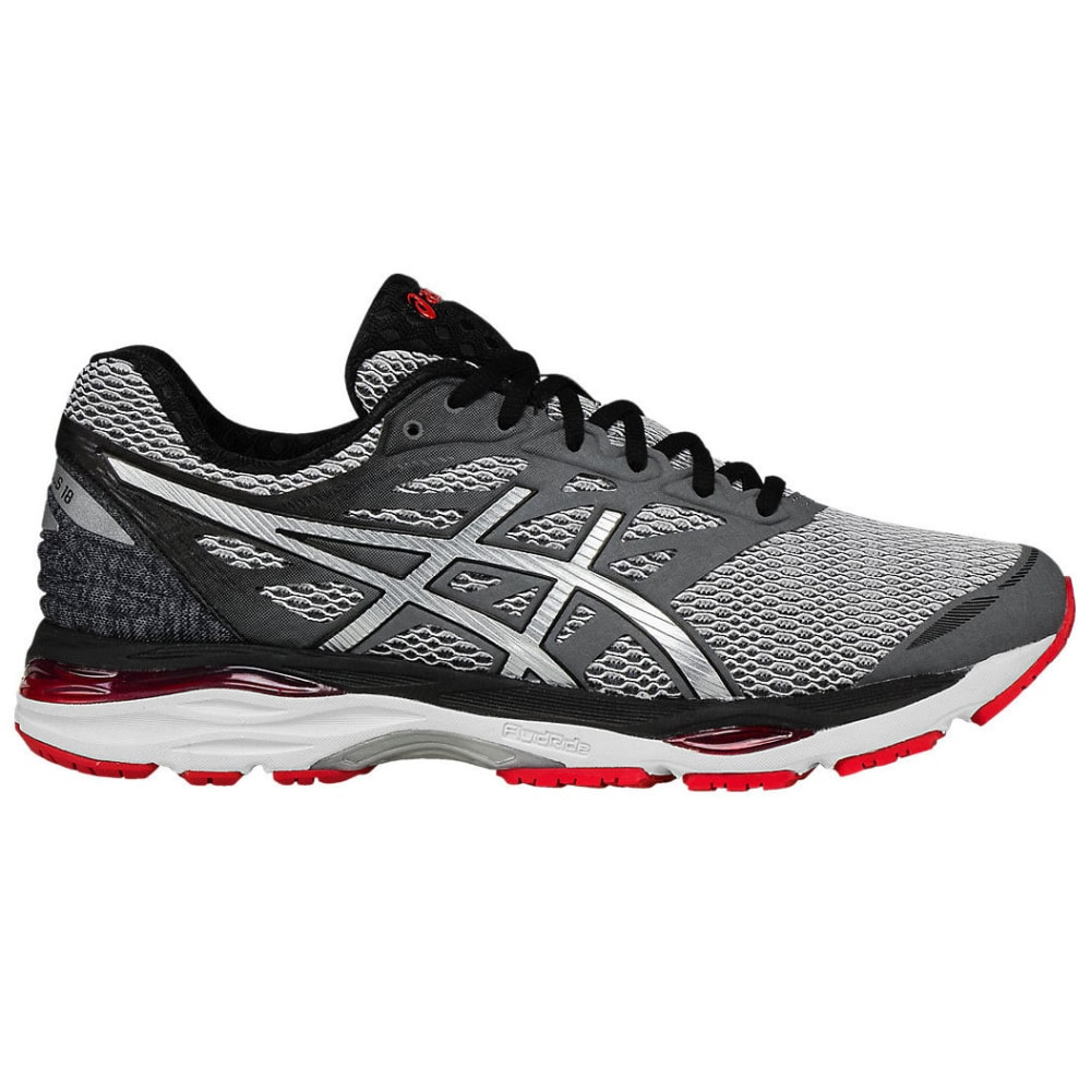 ASICS Men's GEL-CUMULUS 18 Running Shoes - CARBON