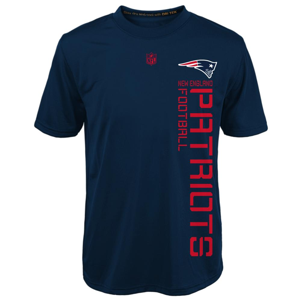 NEW ENGLAND PATRIOTS Boys' Terminus Short Sleeve Tee - NAVY