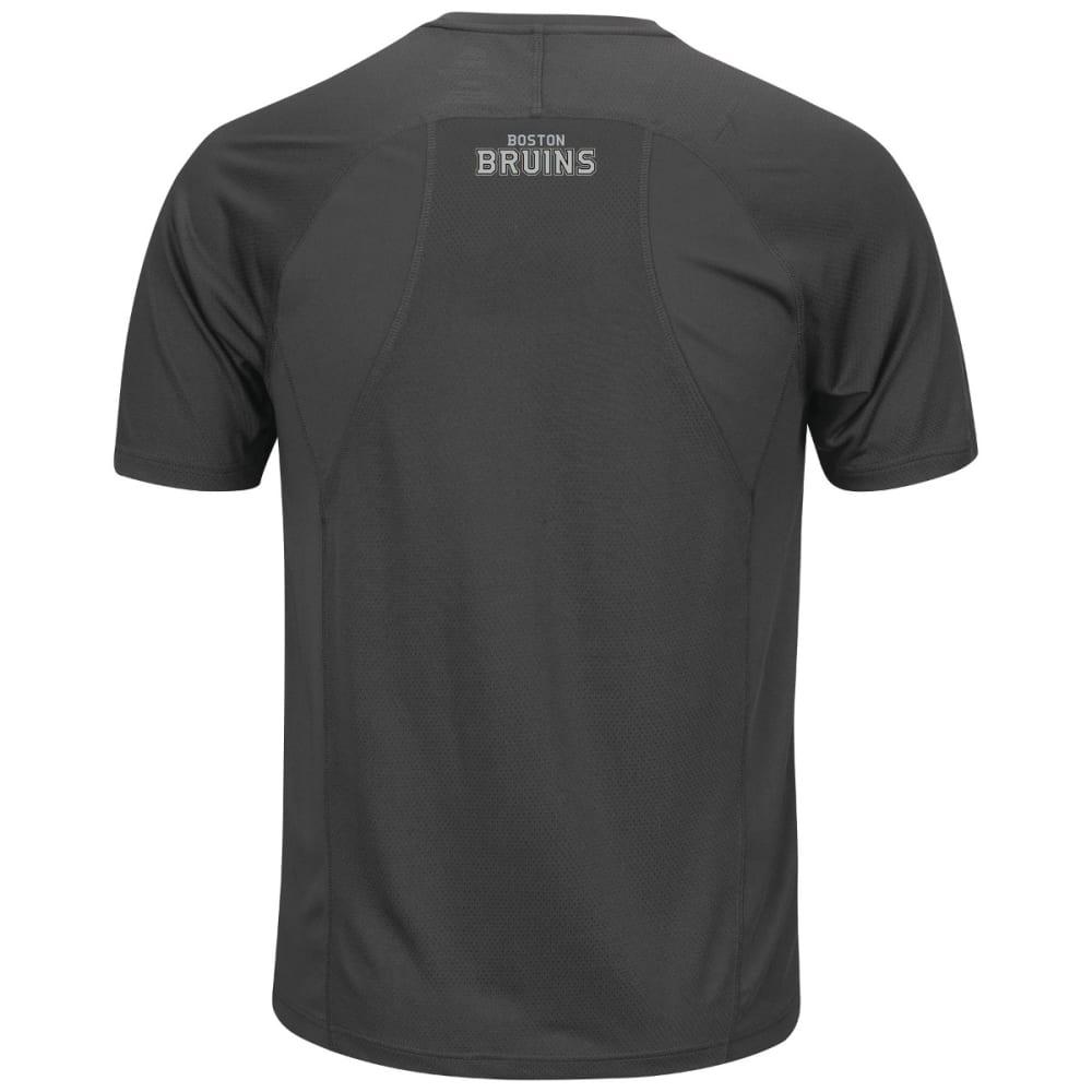BOSTON BRUINS Men's Toe Drag Short-Sleeve Tee - BLACK