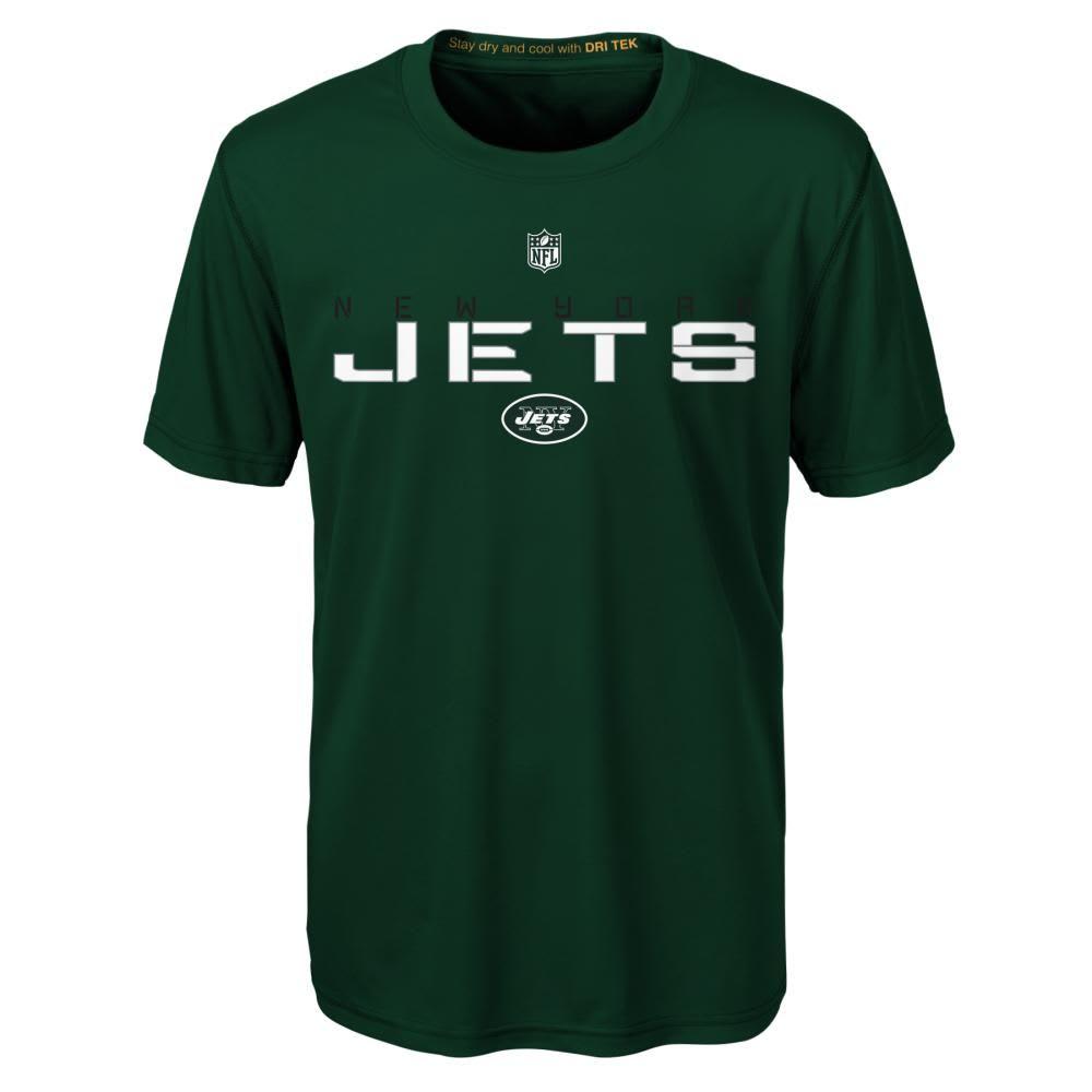 NEW YORK JETS Boys' Maximal Short Sleeve Tee - GREEN