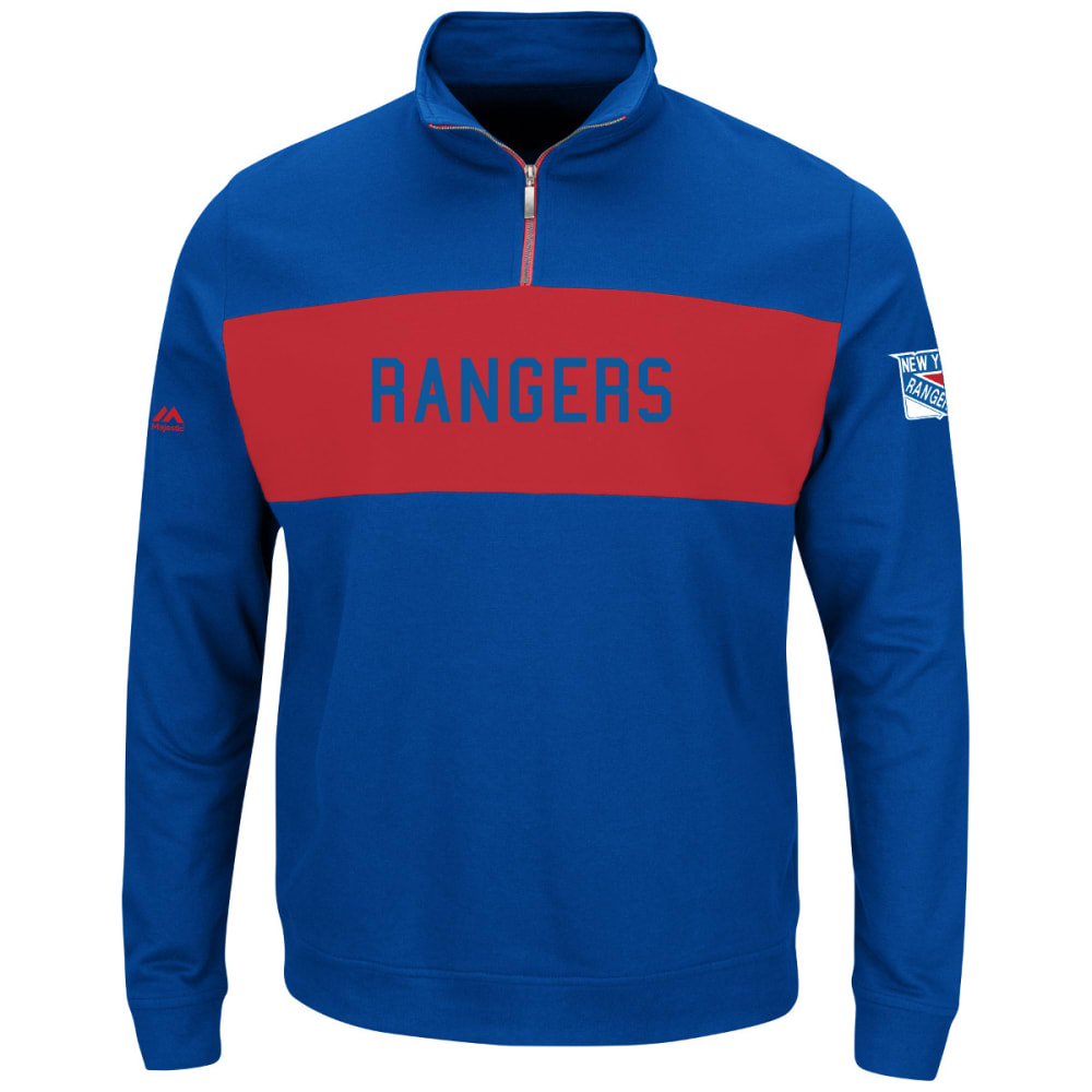 NEW YORK RANGERS Men's Appeal Play ¼-Zip Pullover - ROYAL BLUE