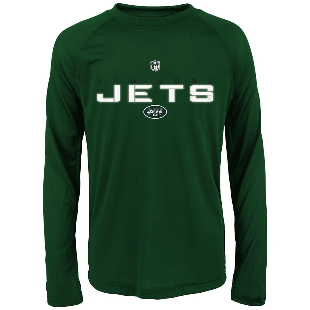 NEW YORK JETS Boys' Maximal Long-Sleeve Tee - GREEN