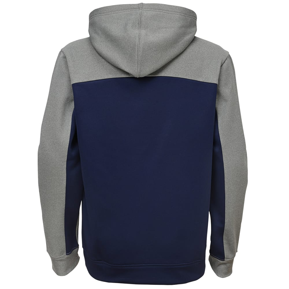 NEW ENGLAND PATRIOTS Boys' Arc Pullover Hoodie - NAVY/GREY