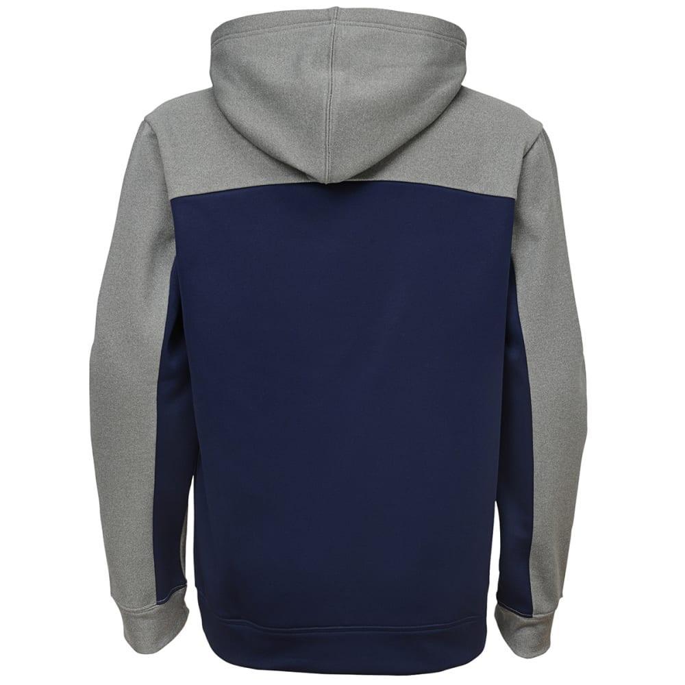 NEW ENGLAND PATRIOTS Boys' Arc Pullover Hoodie - NAVY/GREY
