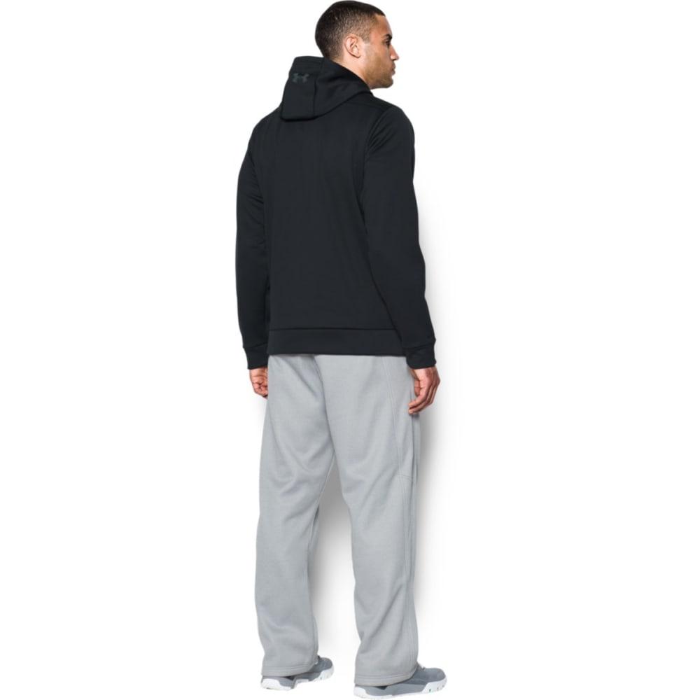 UNDER ARMOUR Men's Storm Armour Fleece Full-Zip Hoodie - BLACK/STEALTH-001