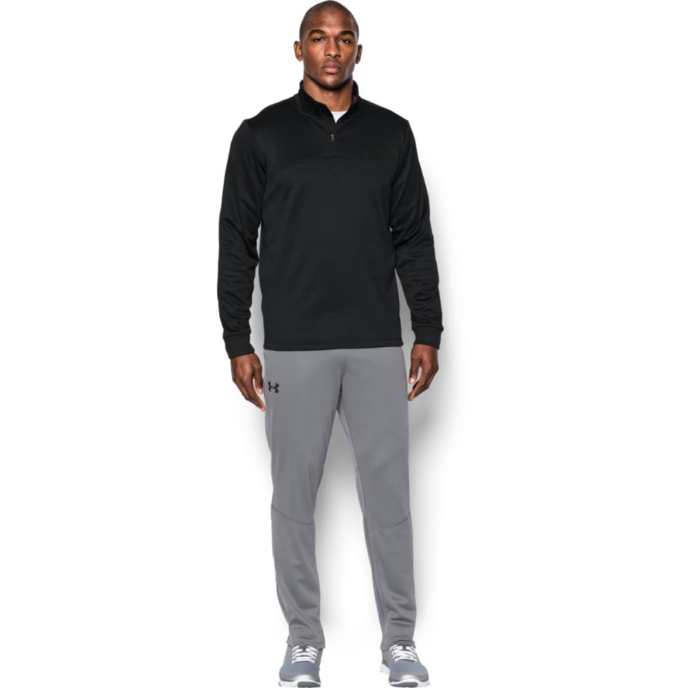 UNDER ARMOUR Men's UA Storm Armour Fleece ¼-Zip Pullover - BLACK/BLACK-002
