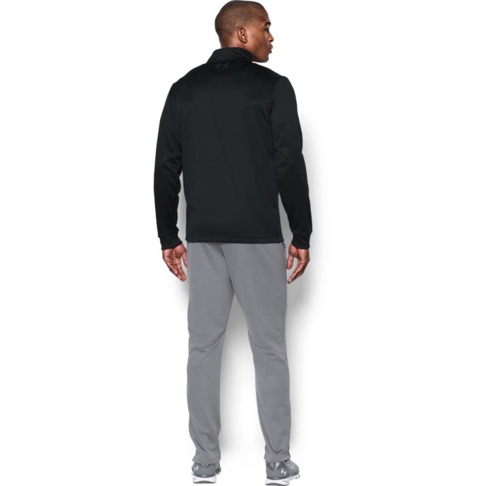UNDER ARMOUR Men's UA Storm Armour Fleece 1/4 Zip Pullover - BLACK/BLACK-002