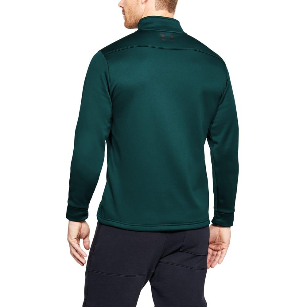 UNDER ARMOUR Men's UA Storm Armour Fleece 1/4 Zip Pullover - ARDEN GREEN/BLK-919