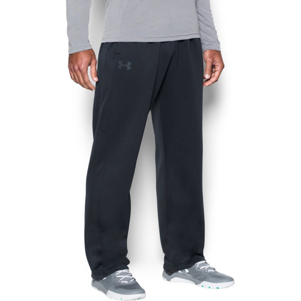 UNDER ARMOUR Men's Storm Icon Fleece Pants - BLACK/BLACK-001