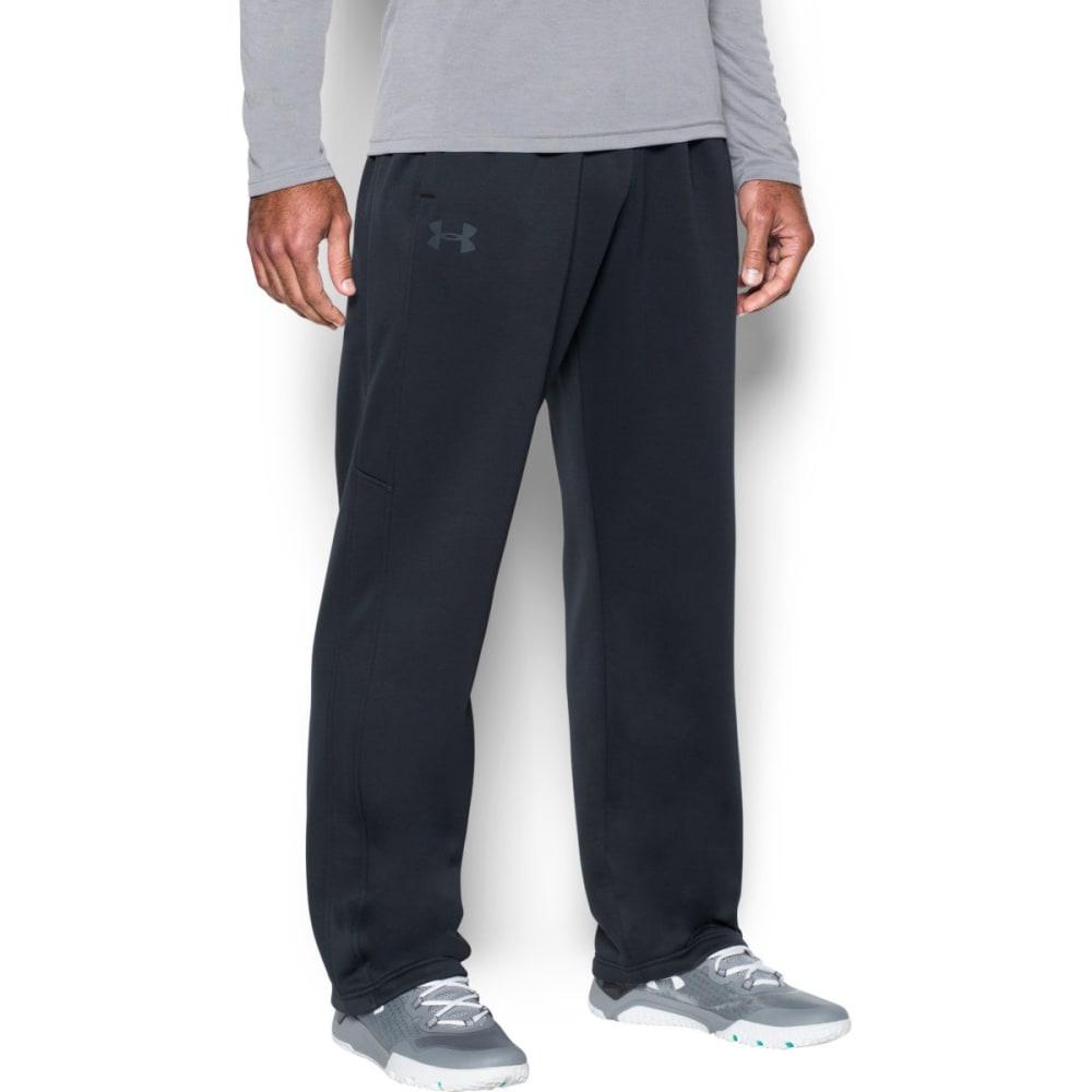 UNDER ARMOUR Men's Storm Icon Fleece Pants - BLACK/BLACK-001