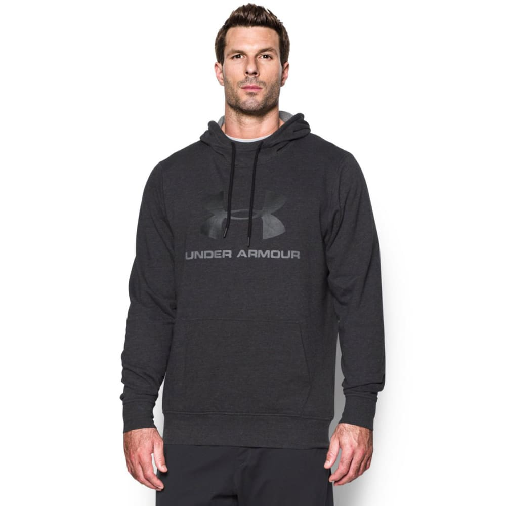 UNDER ARMOUR Men's Sportstyle Fleece Graphic Hoodie - ASPHALT HTHR-005